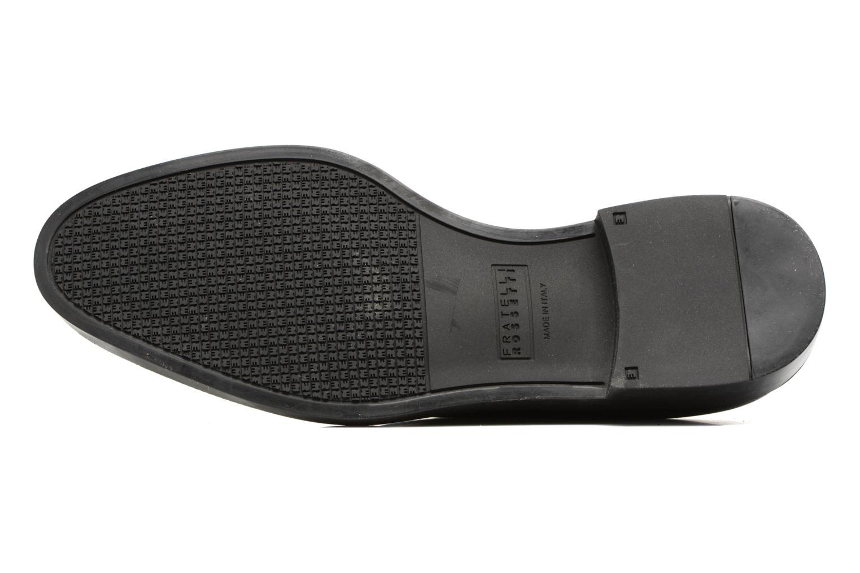 Zapatos con cordones Fratelli Rossetti 75406 Negro vista de arriba
