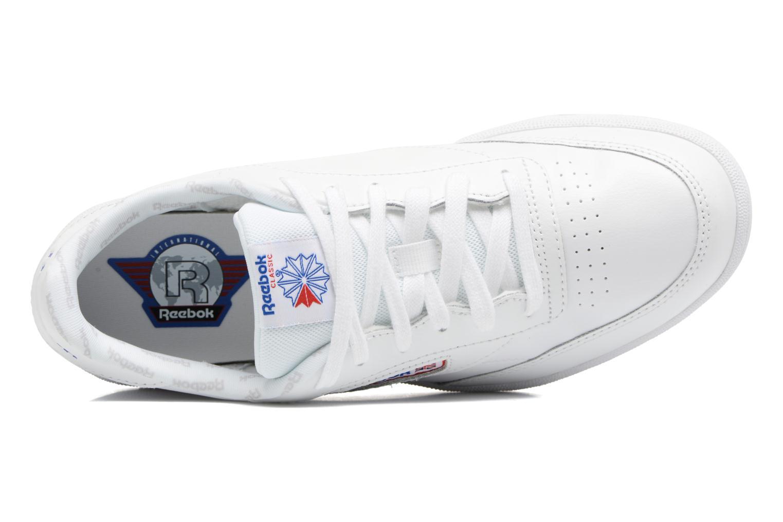 Baskets Reebok Club C Blanc vue gauche