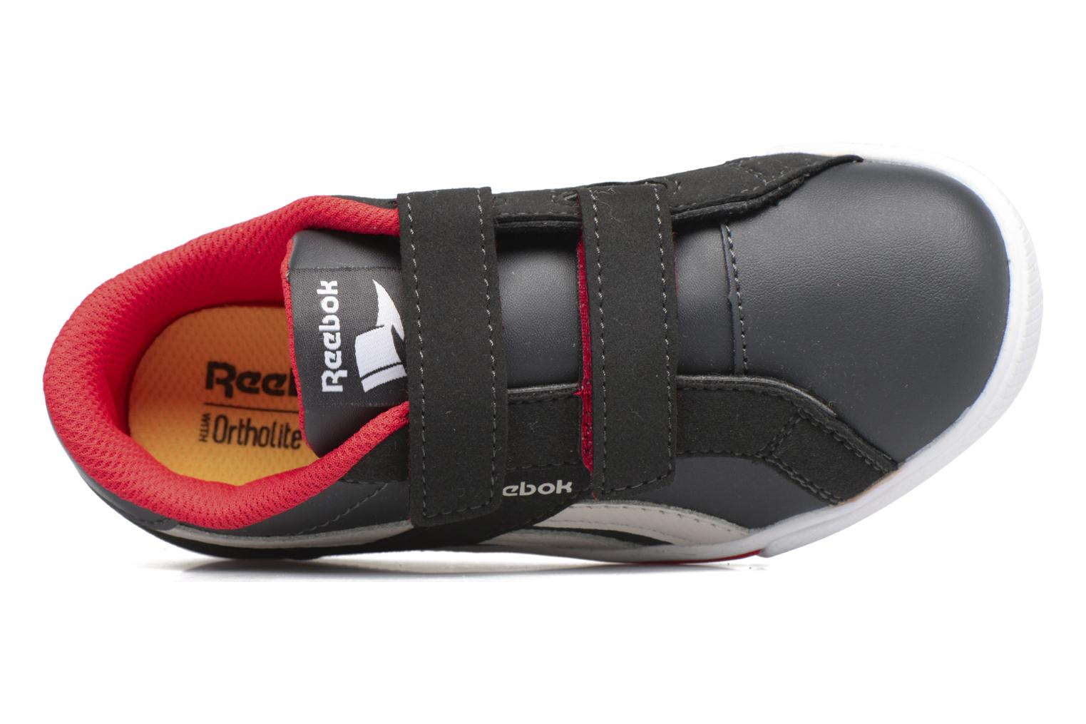 Reebok Royal Comp 2Ls Alt Coal/Sand Stone/Dayglow Red