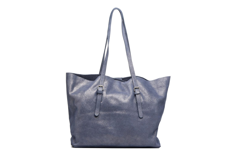 Sacs à main Esprit Venus Leather Shopper Bleu vue face