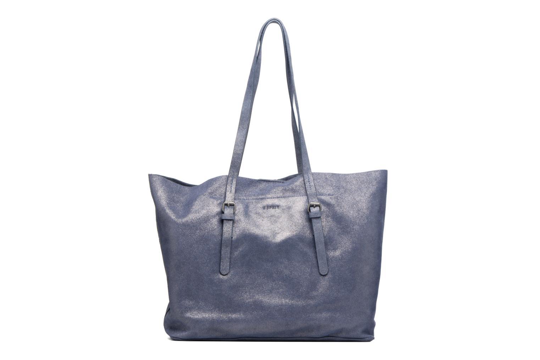 Sacs à main Esprit Venus Leather Shopper Bleu vue détail/paire