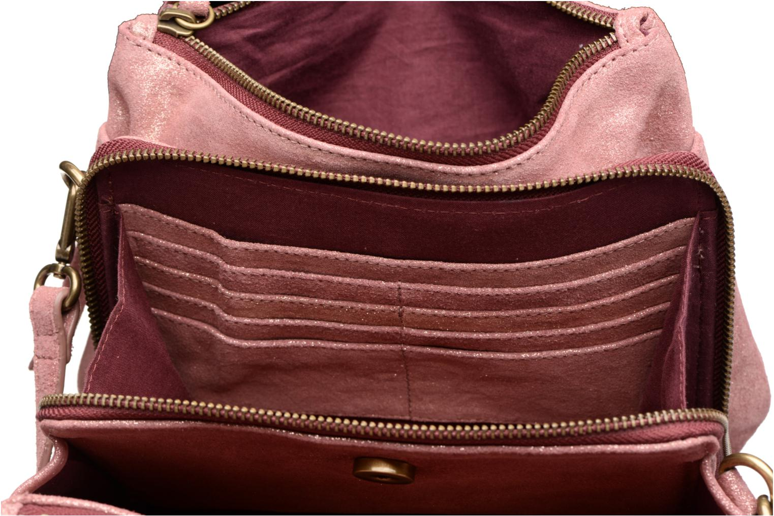 Venus Leather Shoulder bag Dark Red