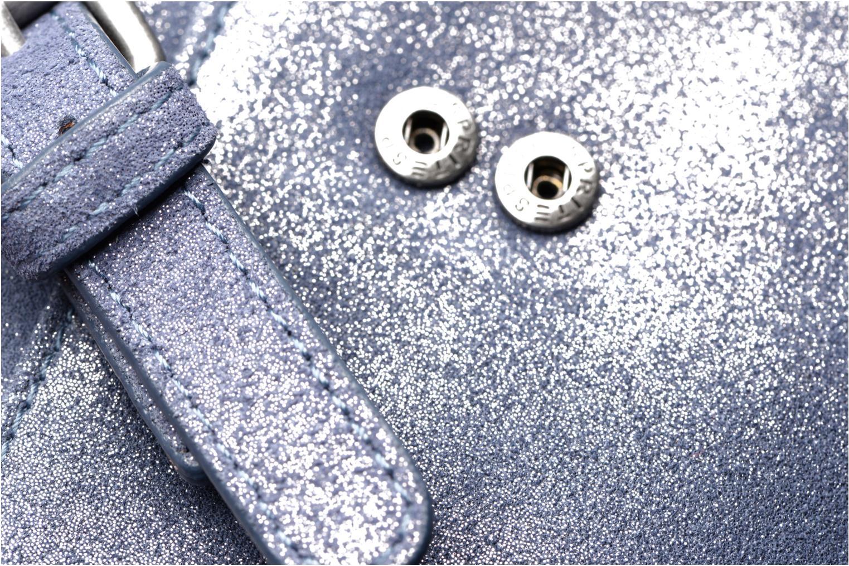 Petite Maroquinerie Esprit Venus Leather Wallet Bleu vue gauche