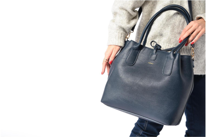 Sacs à main Esprit Wasima City bag Noir vue haut