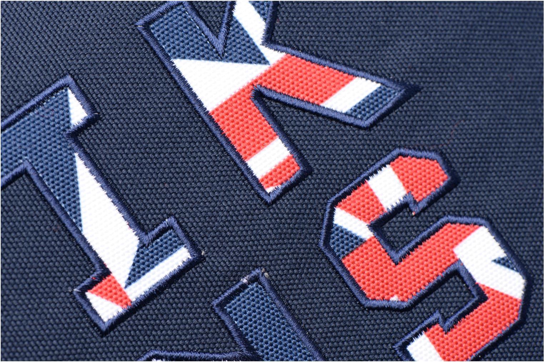 Scolaire IKKS Cartable 38cm Union Jack Rouge vue gauche
