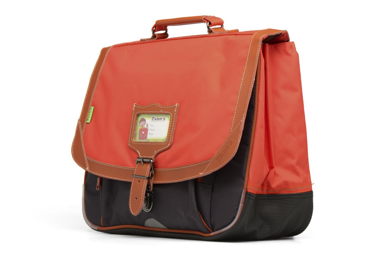 Scolaire Tann's Cartable 38cm Iconic Orange vue portées chaussures