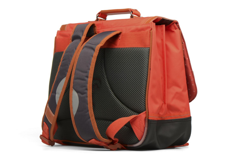 Scolaire Tann's Cartable 38cm Iconic Orange vue droite