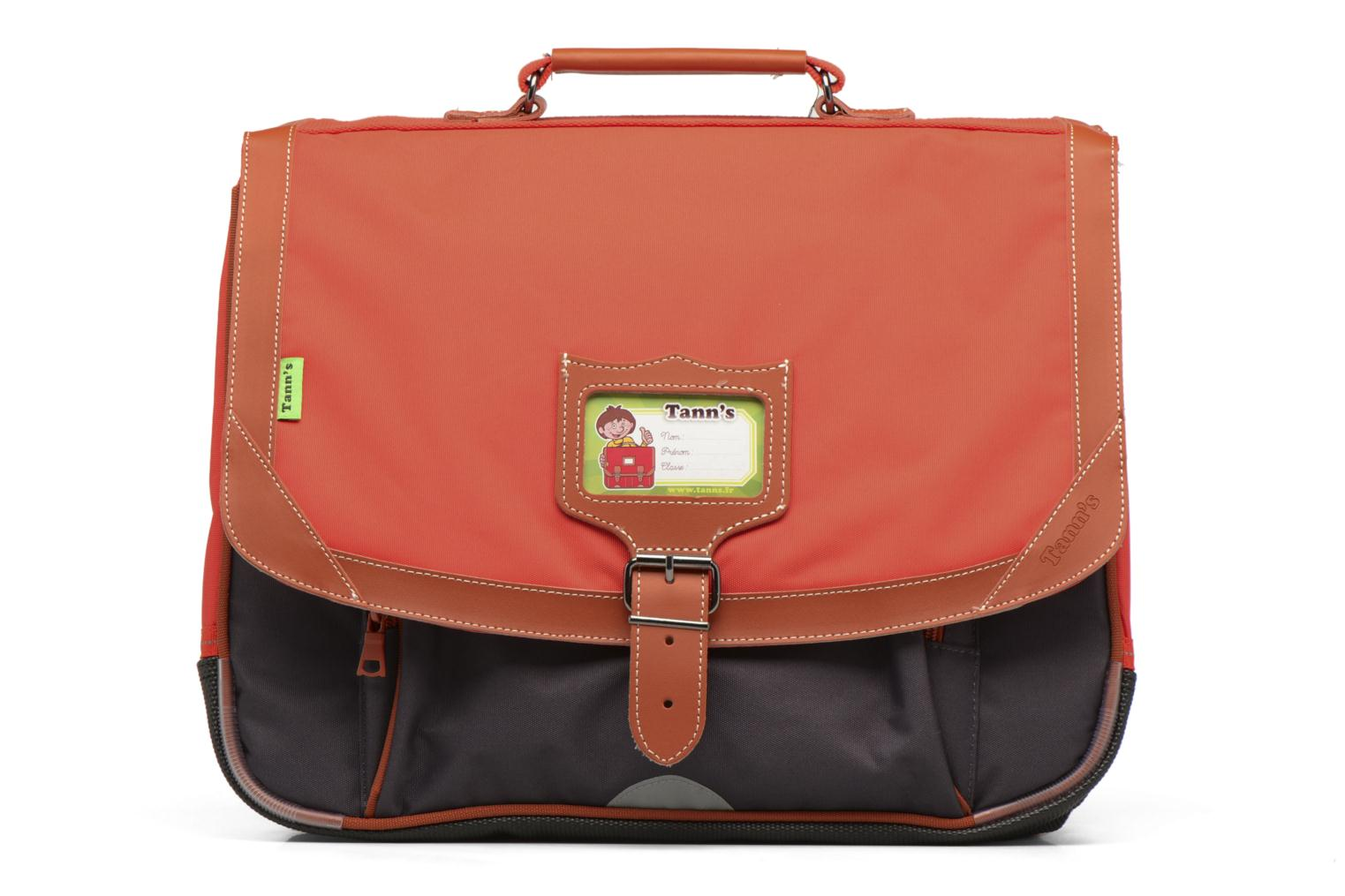 Cartable 38cm Iconic Gris/orange