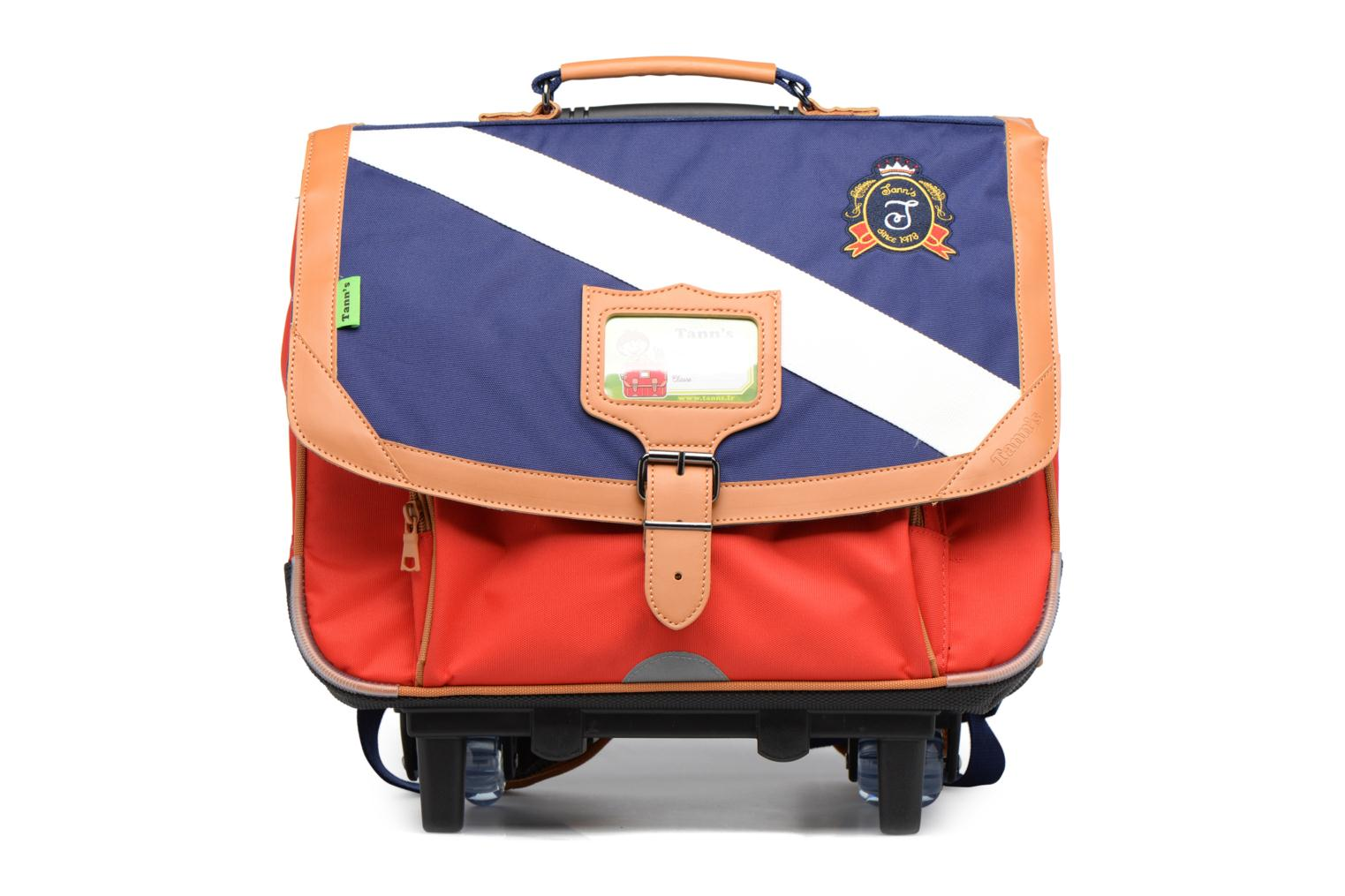 Cartable 38cm Trolley Polo Bleu/Rouge
