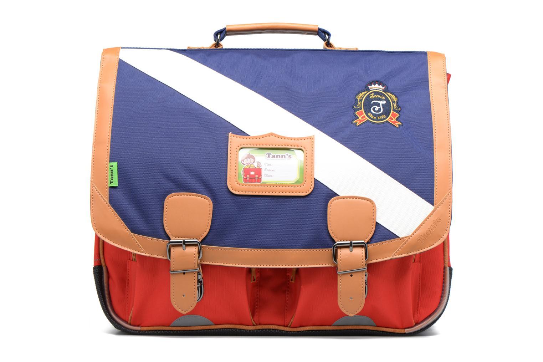 Cartable 41cm Polo Bleu/Rouge