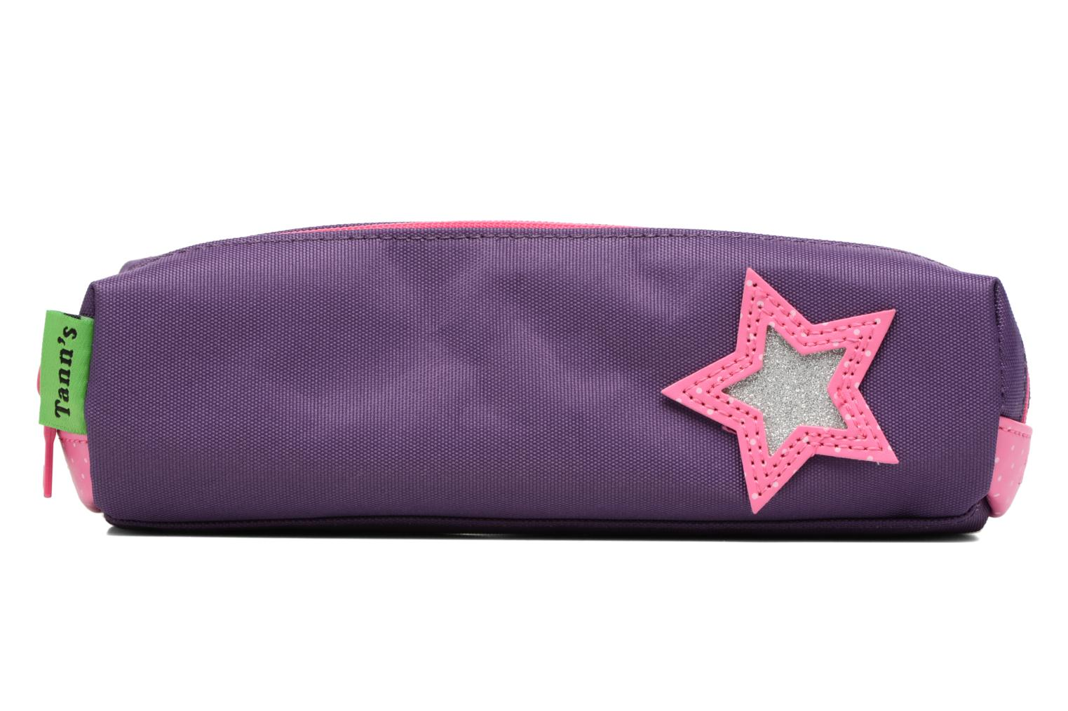 Trousse double Star Prune