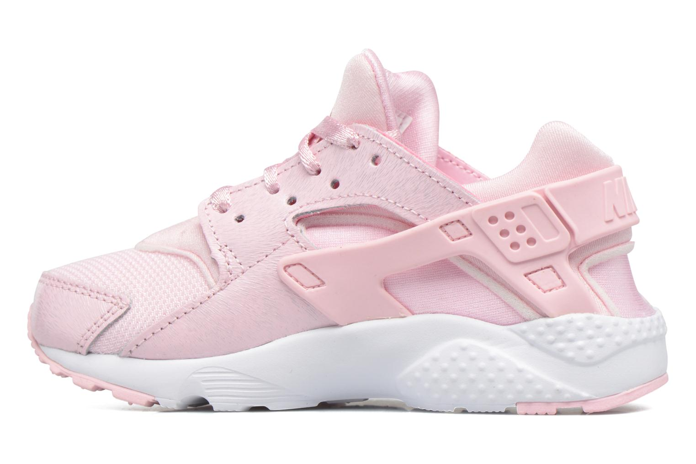 Baskets Nike Nike Huarache Run Se (Ps) Rose vue face