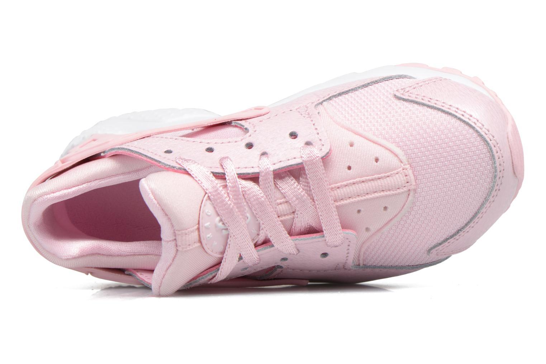 Baskets Nike Nike Huarache Run Se (Ps) Rose vue gauche