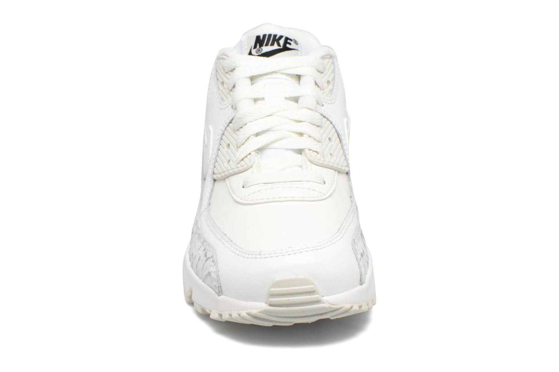 Baskets Nike Nike Air Max 90 Ltr Se Gg Blanc vue portées chaussures