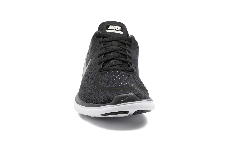 Chaussures de sport Nike Nike Flex 2017 Rn (Gs) Noir vue portées chaussures