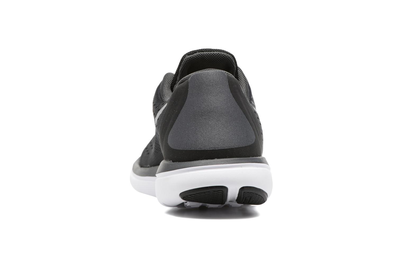 Nike Flex 2017 Rn (Gs) Black/Metallic Silver-Anthracite-White