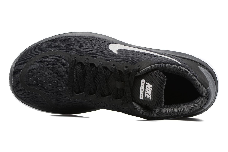 Chaussures de sport Nike Nike Flex 2017 Rn (Gs) Noir vue gauche