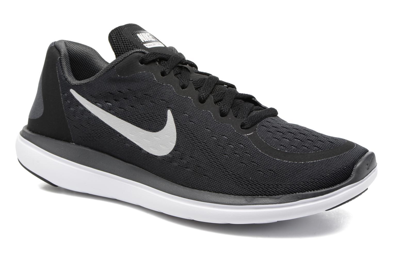 Chaussures de sport Nike Nike Flex 2017 Rn (Gs) Noir vue détail/paire