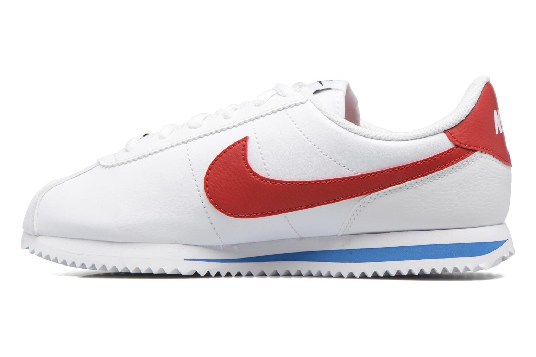 Deportivas Nike Cortez Basic Sl (Gs) Blanco vista de frente
