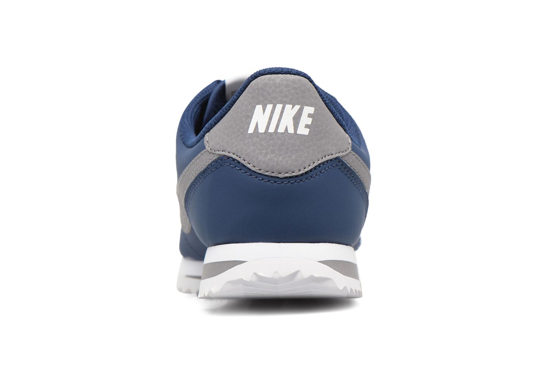 Baskets Nike Cortez Basic Sl (Gs) Bleu vue droite