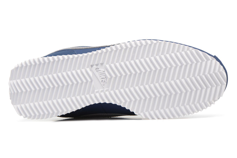 Baskets Nike Cortez Basic Sl (Gs) Bleu vue haut