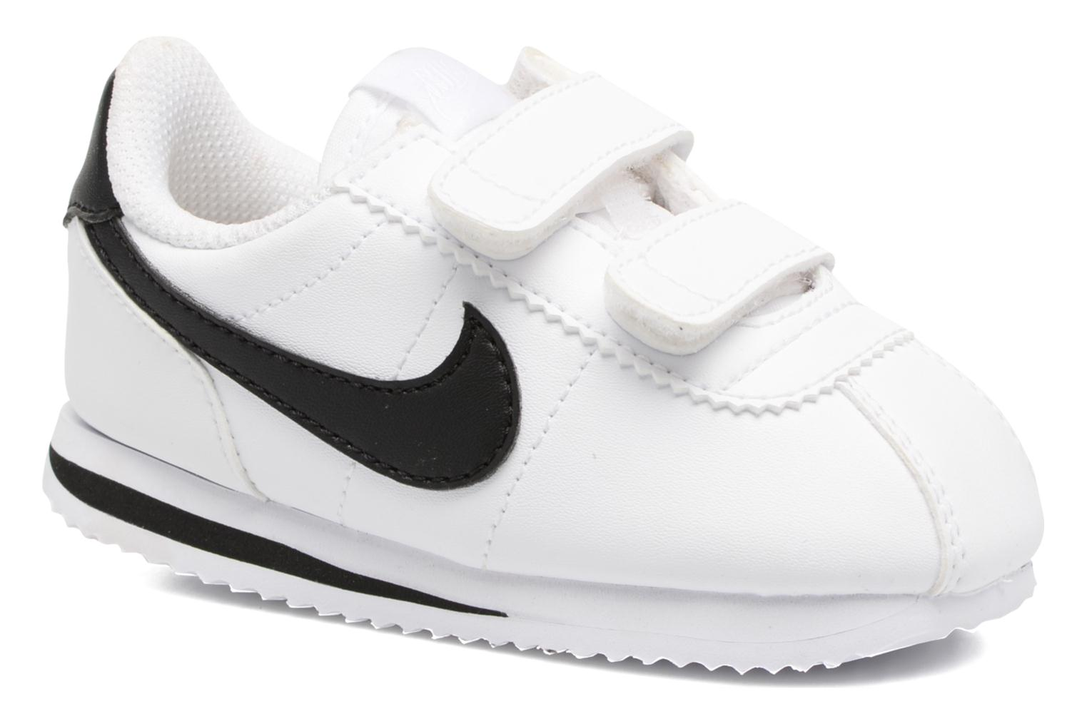 Trainers Nike Cortez Basic Sl (Tdv) White detailed view/ Pair view