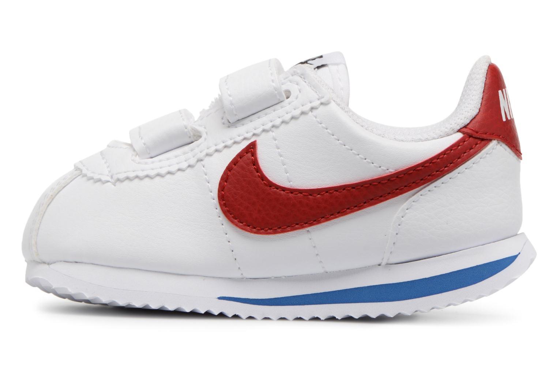 Trainers Nike Cortez Basic Sl (Tdv) White front view
