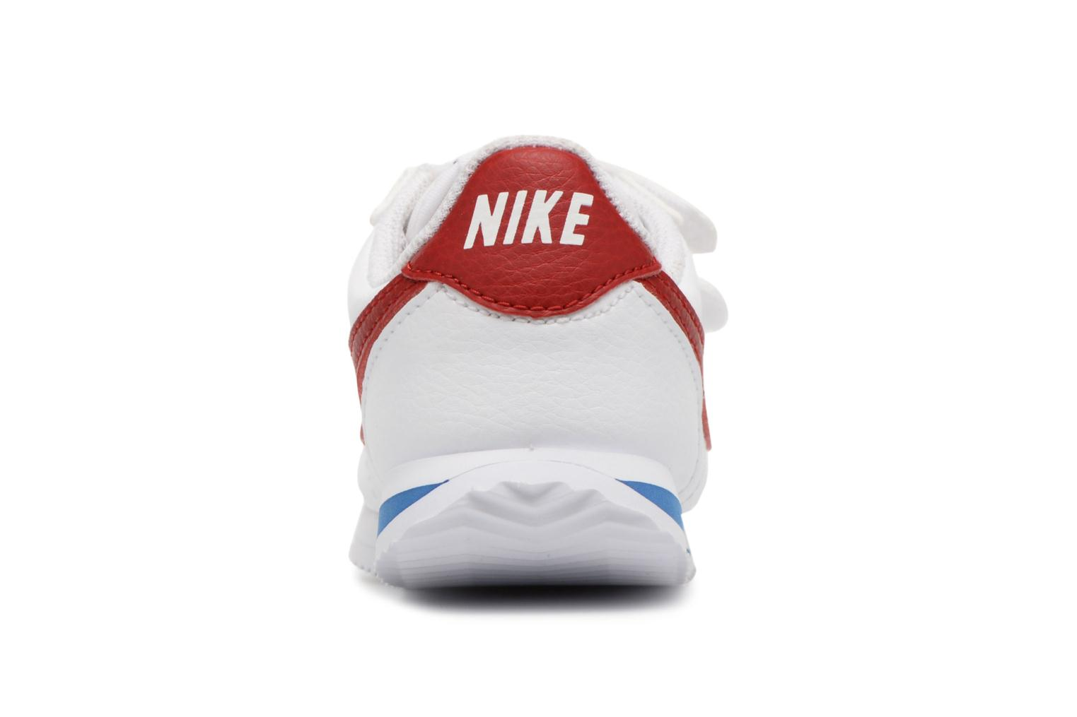 Trainers Nike Cortez Basic Sl (Tdv) White view from the right