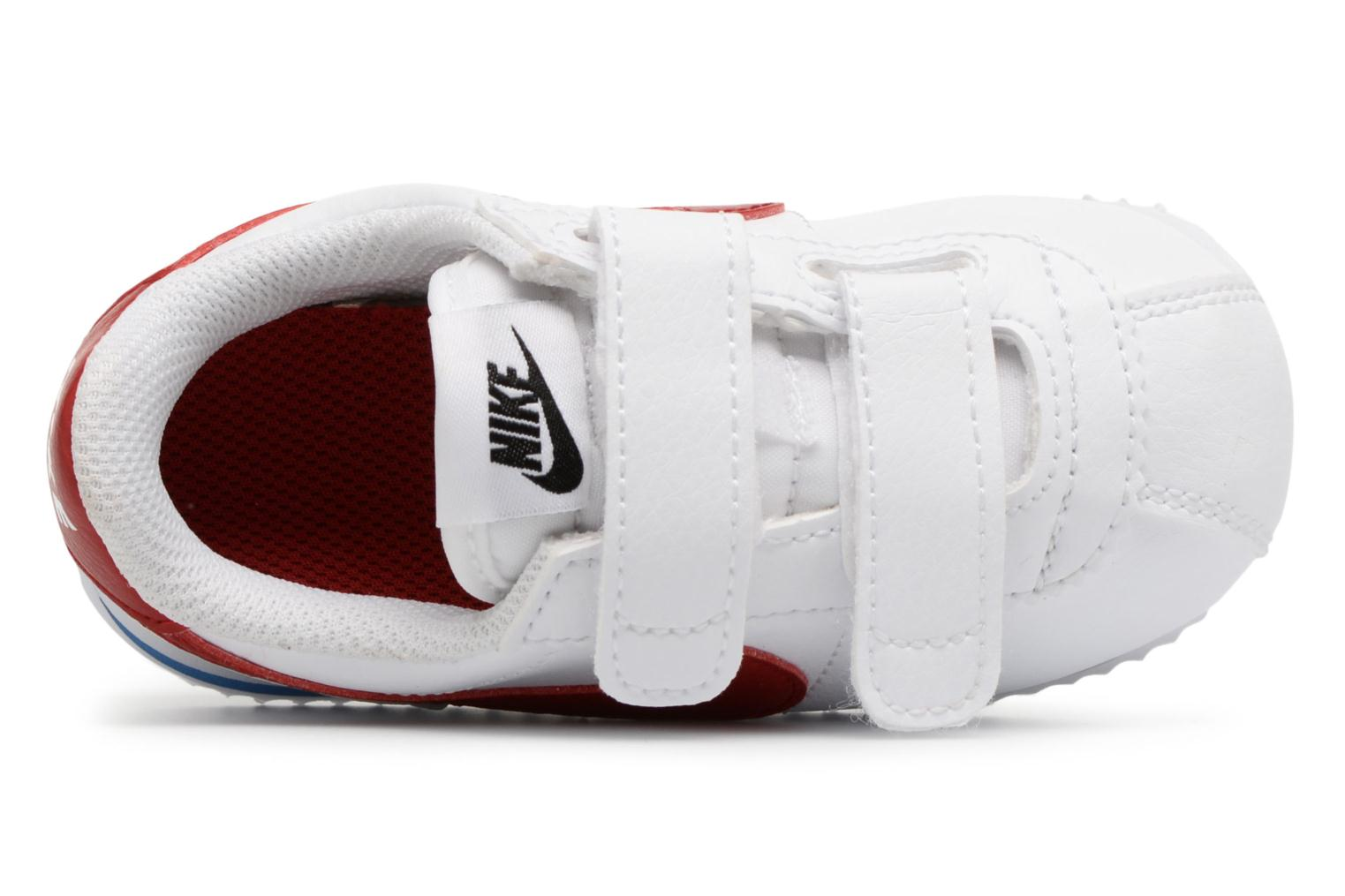 Trainers Nike Cortez Basic Sl (Tdv) White view from the left