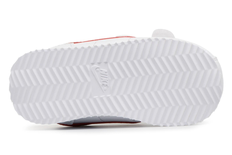 Deportivas Nike Cortez Basic Sl (Tdv) Blanco vista de arriba