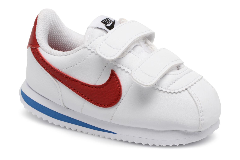Trainers Nike Cortez Basic Sl (Tdv) White detailed view/ Pair view
