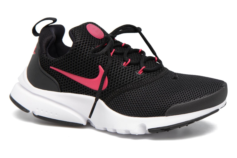 Baskets Nike Presto Fly (Gs) Rose vue détail/paire