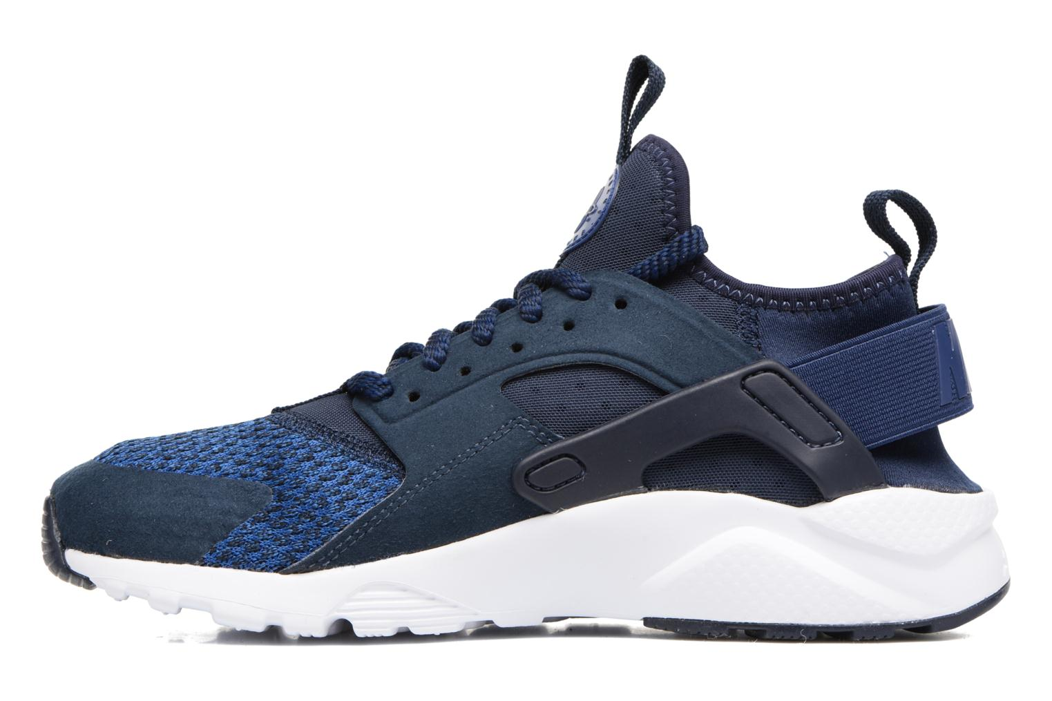 Baskets Nike Air Huarache Run Ultra Se (Gs) Bleu vue face