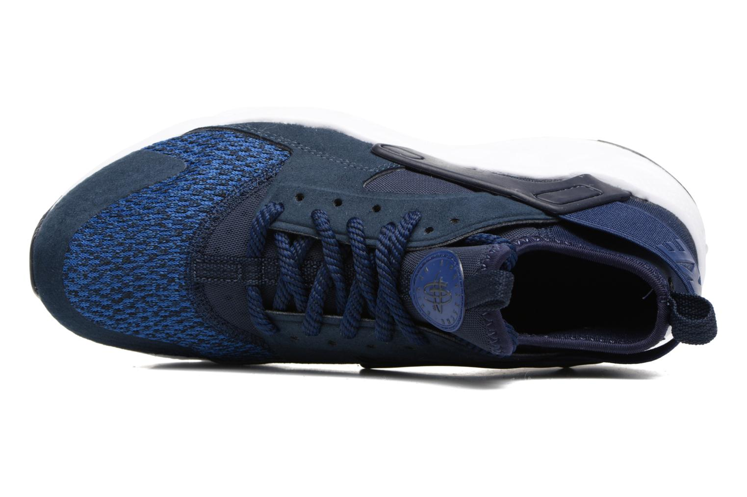 Baskets Nike Air Huarache Run Ultra Se (Gs) Bleu vue gauche