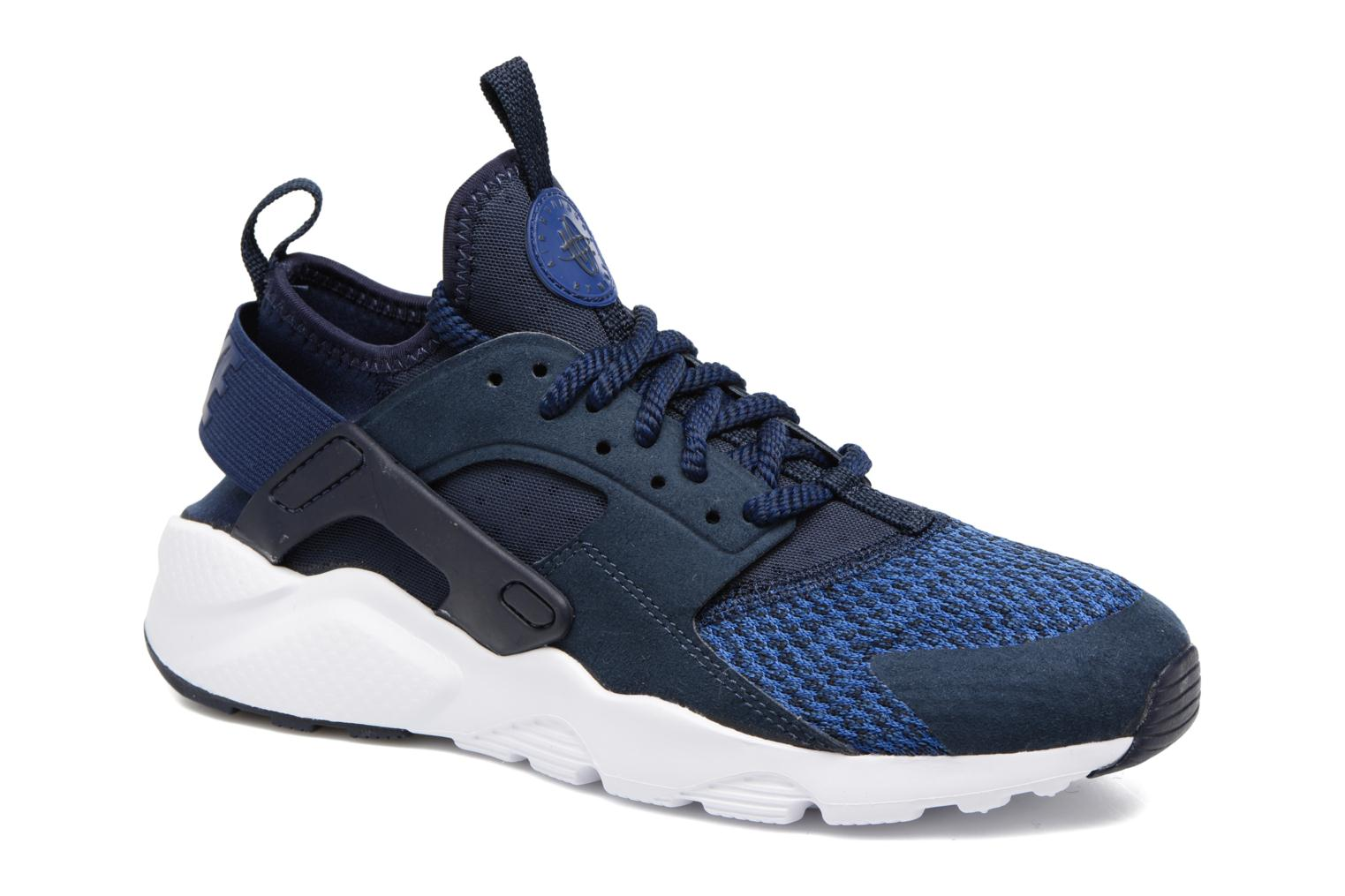 Baskets Nike Air Huarache Run Ultra Se (Gs) Bleu vue détail/paire