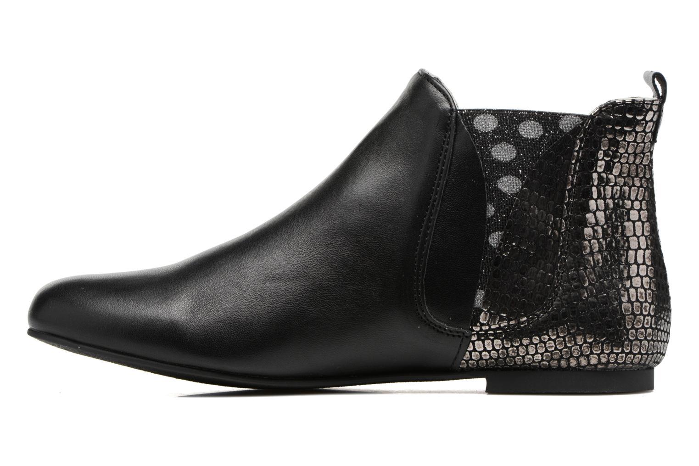 Bottines et boots Ippon Vintage Patch dots Argent vue face