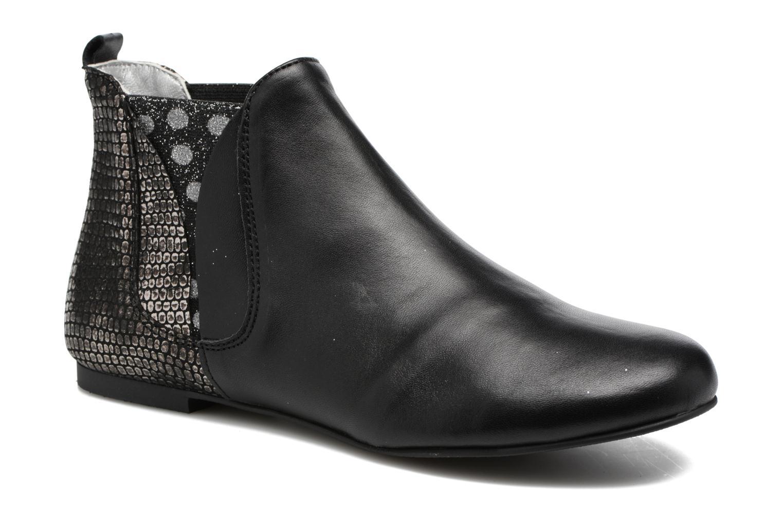 Bottines et boots Ippon Vintage Patch dots Argent vue détail/paire
