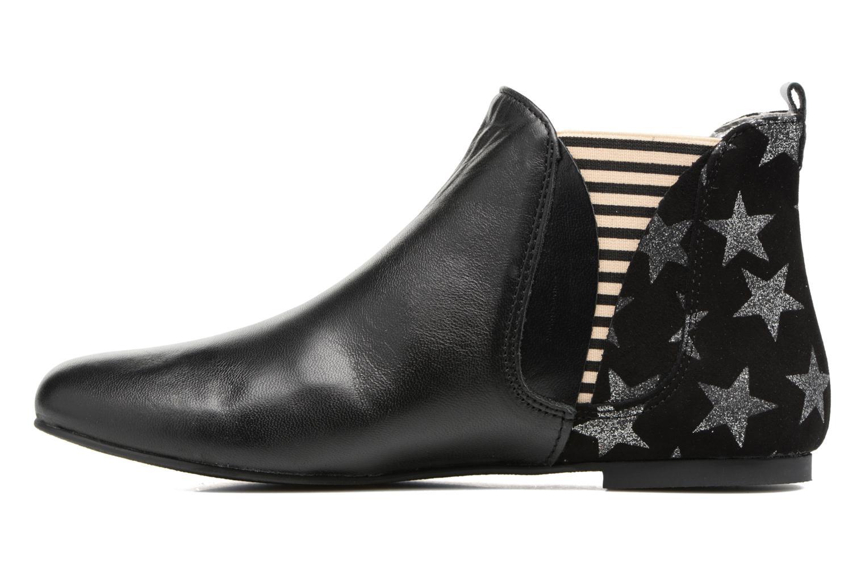 Bottines et boots Ippon Vintage Patch Sky Noir vue face