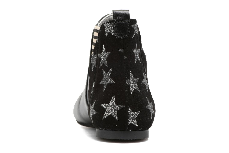 Bottines et boots Ippon Vintage Patch Sky Noir vue droite