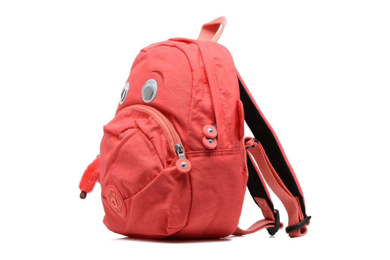 Sacs à dos kipling FAST Mini sac à dos Rouge vue portées chaussures