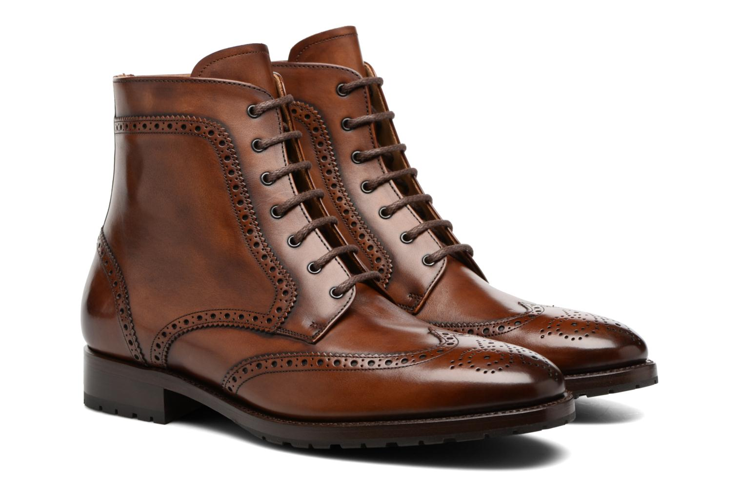 Bottines et boots Marvin&Co Luxe Westner - Goodyear Marron vue 3/4