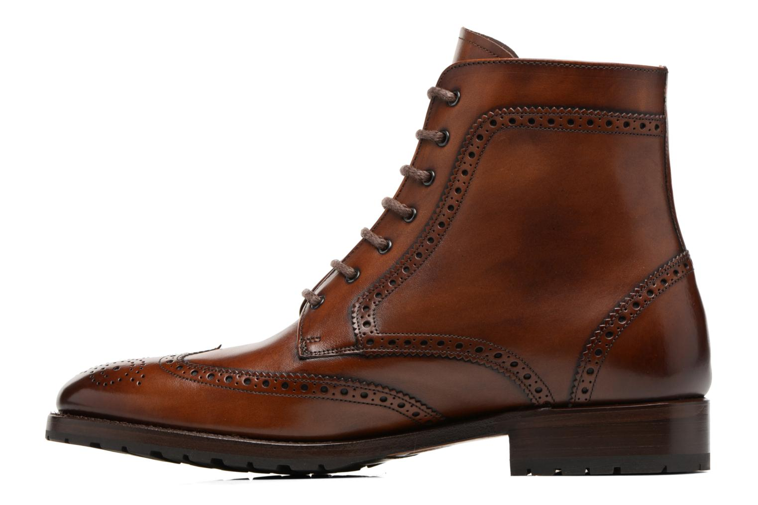 Bottines et boots Marvin&Co Luxe Westner - Goodyear Marron vue face