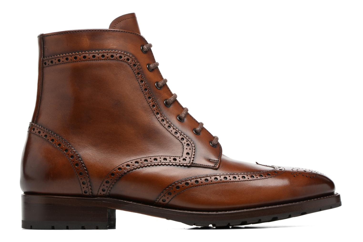 Bottines et boots Marvin&Co Luxe Westner - Goodyear Marron vue derrière