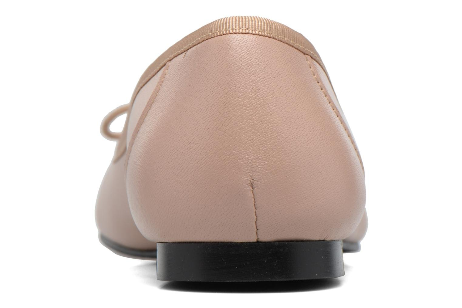 Ballet pumps Georgia Rose Sixties Beige view from the right