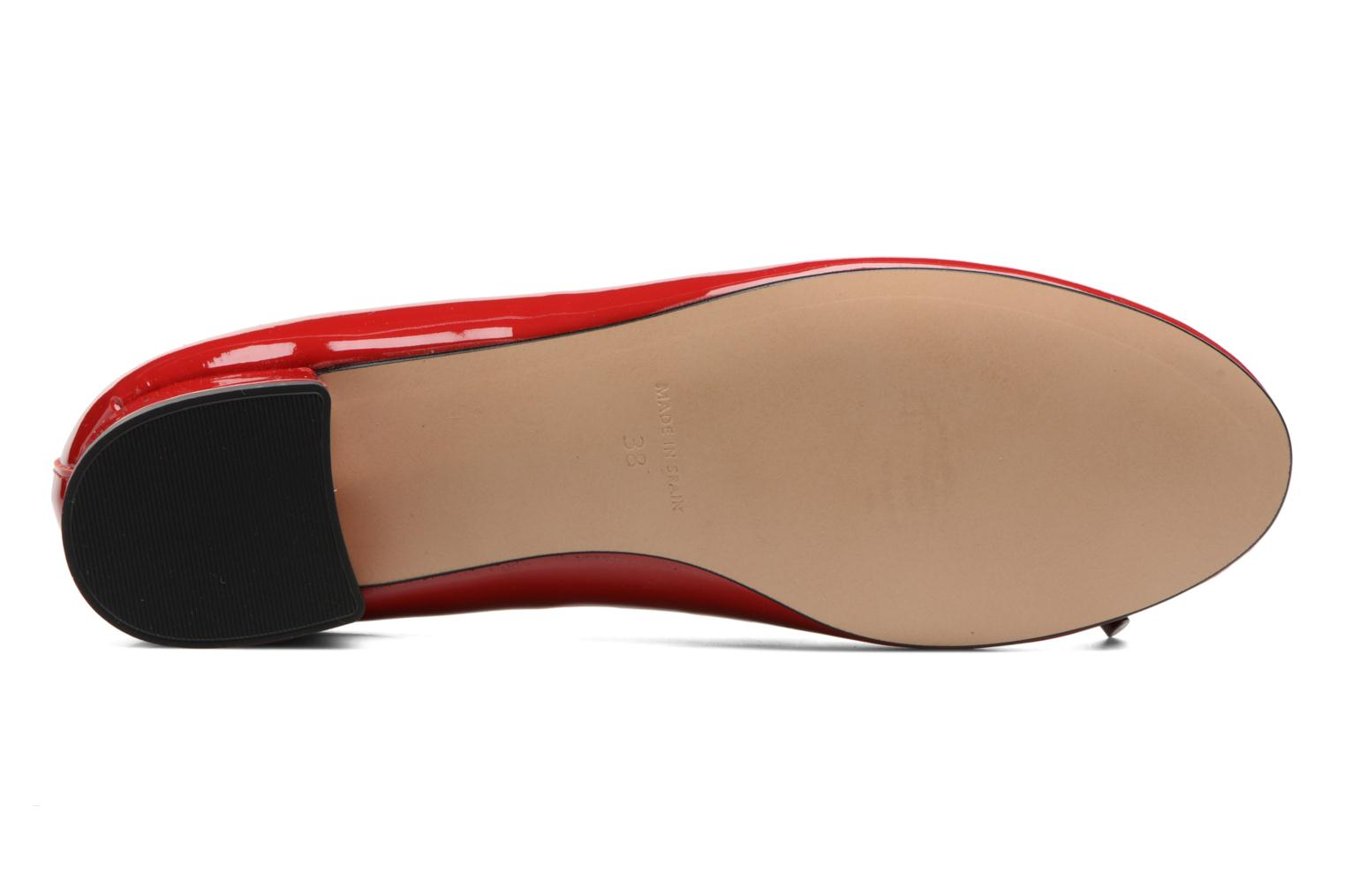 Ballet pumps Georgia Rose Sacouva Red view from above