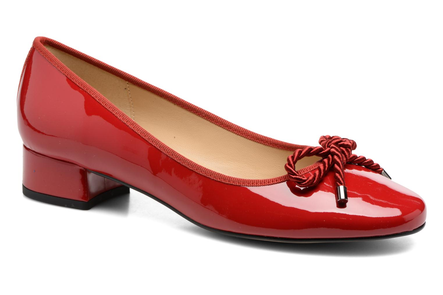 Ballet pumps Georgia Rose Sacouva Red detailed view/ Pair view