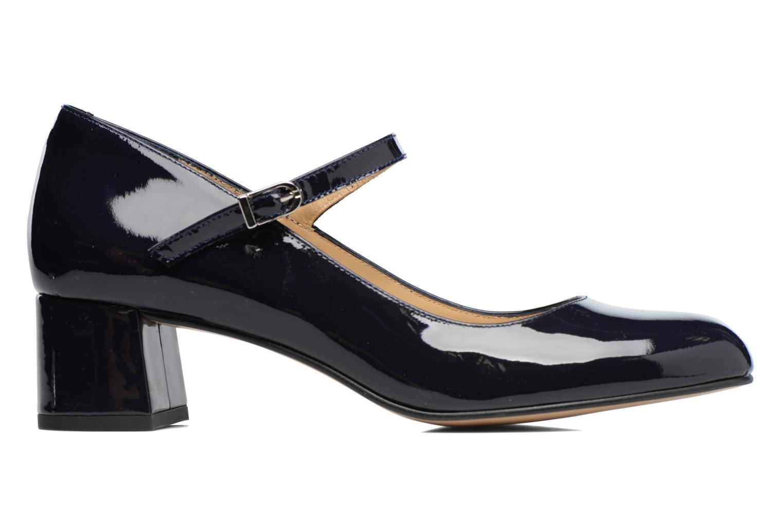 Zapatos de tacón Georgia Rose Satina Azul vistra trasera