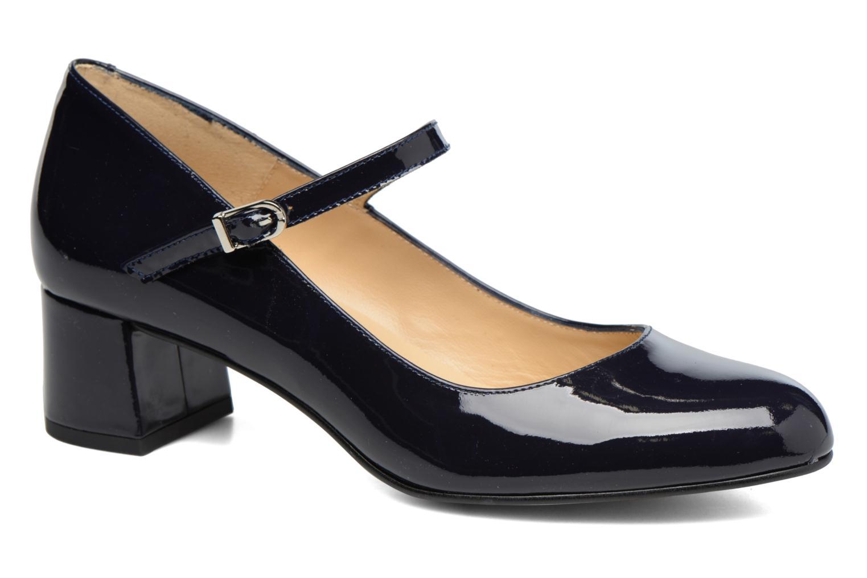 Zapatos de tacón Georgia Rose Satina Azul vista de detalle / par