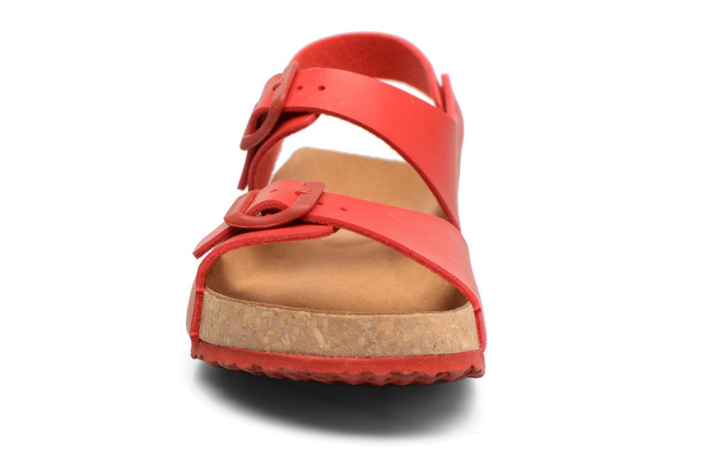 Sandales et nu-pieds El Naturalista Waraji NE57 Rouge vue portées chaussures