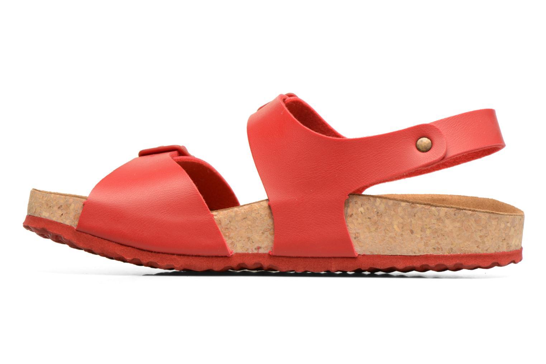 Sandales et nu-pieds El Naturalista Waraji NE57 Rouge vue face
